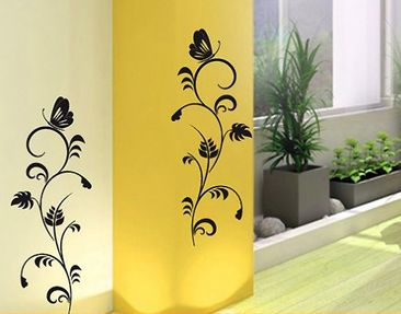Produktfoto Wall Decal no.124 flora duo