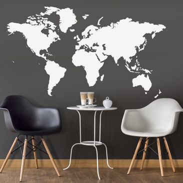 Product picture Wall Decal no.191 World Map