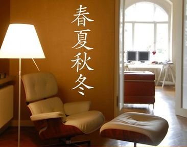 "Produktfoto Wall Decal no.141 Chinese Signs ""the..."