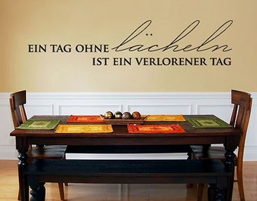 Produktfoto Wall Decal no.SF359 lächeln