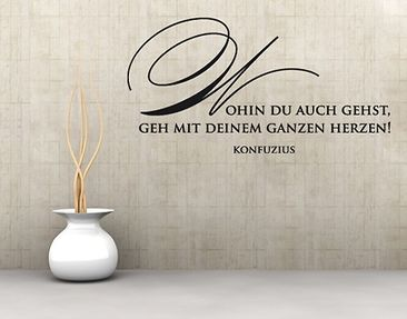 Produktfoto Wall Decal no.SF364 Konfuzius
