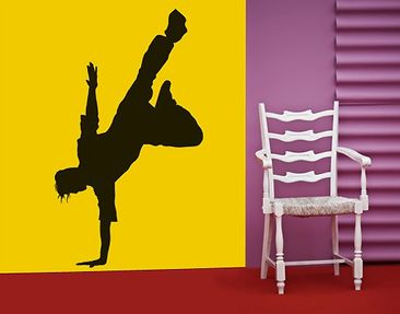 Produktfoto Wall Decal no.SF408 breakdance