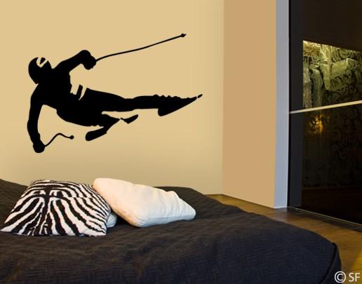 Immagine del prodotto Adesivo murale no.SF412 Skier