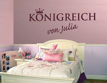 Produktfoto Wall Decal no.SF425 CustomText...