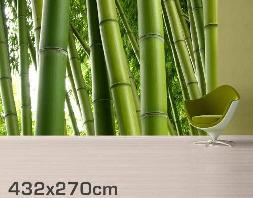 Produktfoto Fototapete Bambus - Bamboo Trees No.2 - selbstklebende Vinyltapete