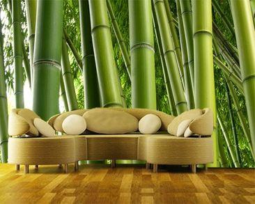 Immagine del prodotto Carta da parati adesiva - Bamboo Trees No.2