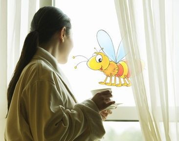 Produktfoto Window Sticker no.1 Little Bee
