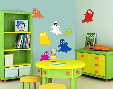 Product picture Wall Decal no.UL241 Ghost