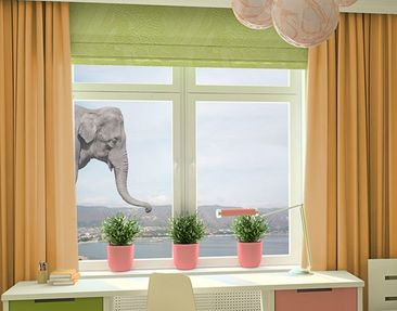 Produktfoto Window Sticker no.3 elephant
