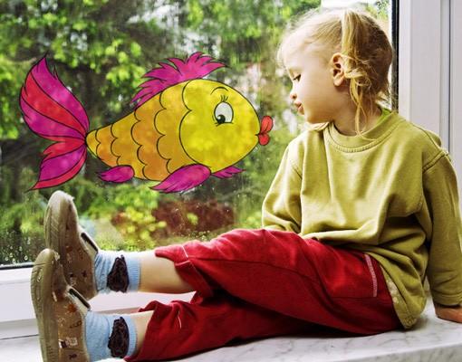 Immagine del prodotto Adesivi da finestra no.5 Madame Fish