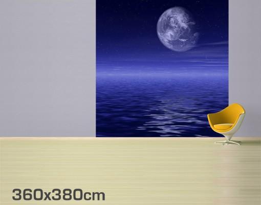 Immagine del prodotto Carta da parati adesiva - Moon and Ocean