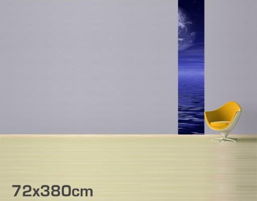 Produktfoto Selbstklebende Tapete - Fototapete Moon and Ocean