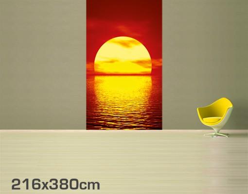 Produktfoto Selbstklebende Tapete - Fototapete Fantastic Sunset