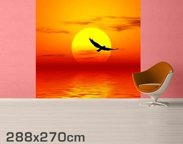 Product picture Photo Wall Mural Fabulous Sunset