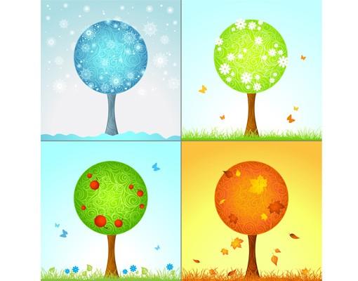 Immagine del prodotto Decorazione per finestre 4 Seasons