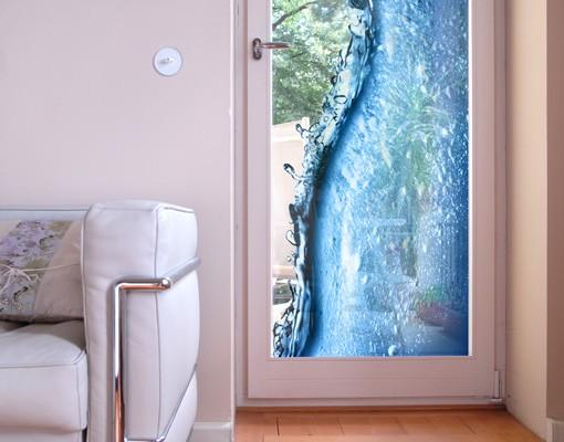 Produktfoto Fensterfolie - Sichtschutz Fenster Beautiful Wave - Fensterbilder
