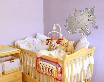Product picture Wall Decal No.13 Happy Elephant