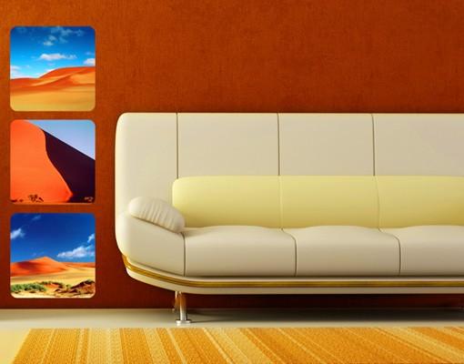 Produktfoto Selbstklebendes Wandbild Desert Trio