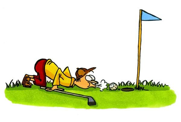 Produktfoto Wandtattoo Kinderzimmer No.22 Golfer Kreativ