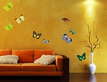 Produktfoto Wall Decal no.32 Butterflies Set1