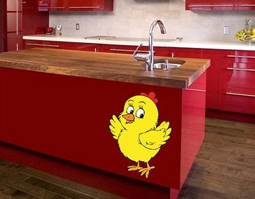 Product picture Wall Sticker No.34 Perky Chick