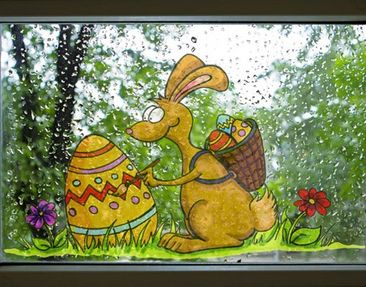 Product picture Window Sticker no.36 Creative Easter...