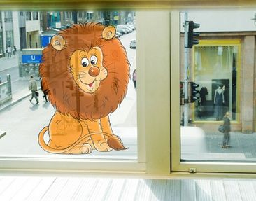 Produktfoto Window Sticker no.40 good lion