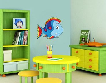 Product picture Wall Decal no.41 Funny Fish