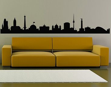 Product picture Wall Decal No.362 Silhouette Berlin
