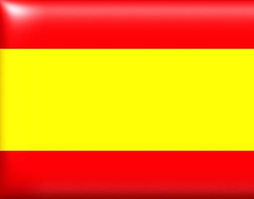 Produktfoto Fensterfolie - Sichtschutz Fenster Spanish Flag - Fensterbilder