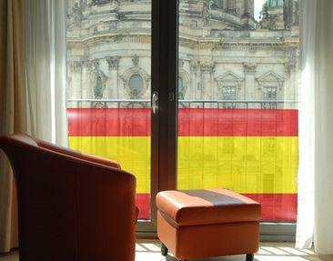 Product picture Window Mural Spanish Flag