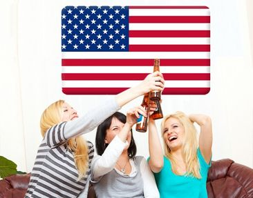 Produktfoto Wall Mural Flag of America 1