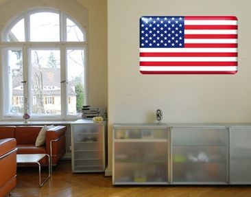 Produktfoto Wall Mural Flag of America 2