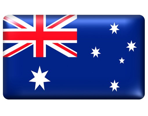Produktfoto Selbstklebendes Wandbild Flag of Australia 2