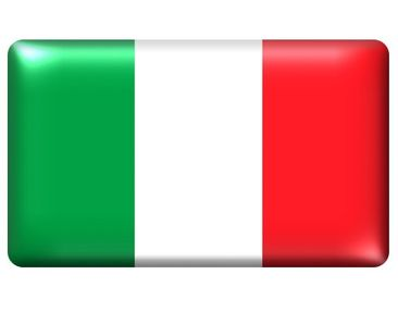 Product picture Wall Mural Flag of Italy