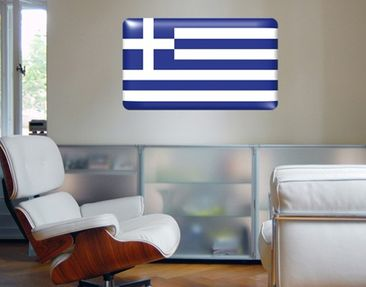 Produktfoto Wall Mural Flag of Greece