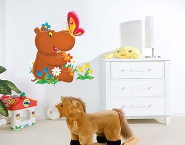 Produktfoto Wall Decal no.46 Hippo