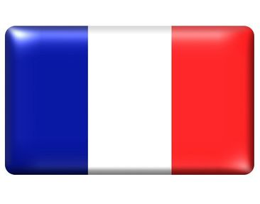Product picture Wall Mural Flag of France