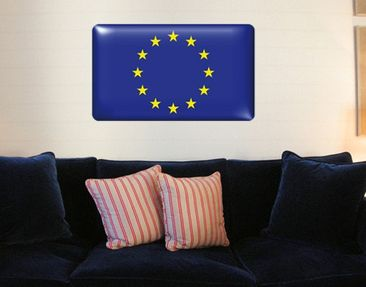 Product picture Wall Mural Flag of Europe