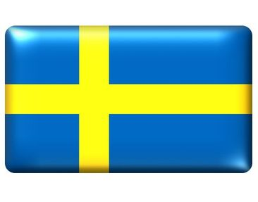 Product picture Wall Mural Flag of Sweden