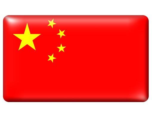 Immagine del prodotto Poster adesivo Flag of China
