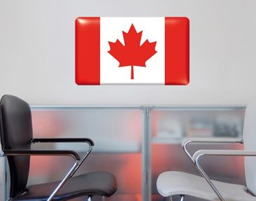 Product picture Wall Mural Flag of Canada