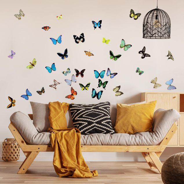 Produktfoto Wandtattoo Schmetterling No.51 Schmetterlinge Set2