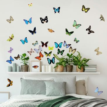 Produktfoto Wall Decal no.51 Butterflies Set2