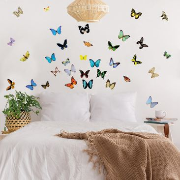Product picture Wall Decal no.51 Butterflies Set2
