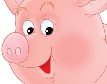 Product picture Wall Decal no.53 Little Pig