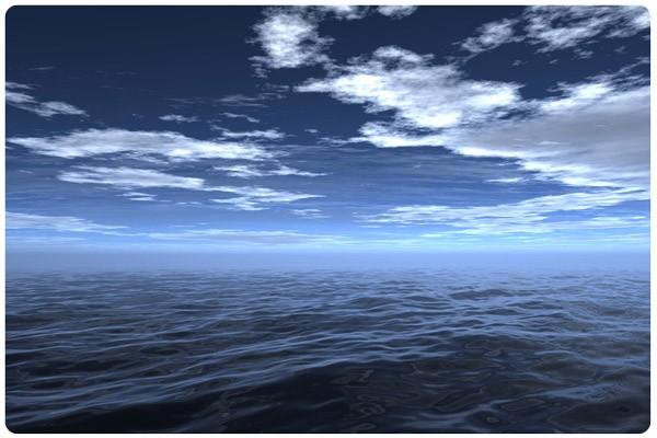 Produktfoto Selbstklebendes Wandbild Dark Water