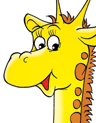 Produktfoto Wandtattoo Giraffe No.58 Stolze Giraffe