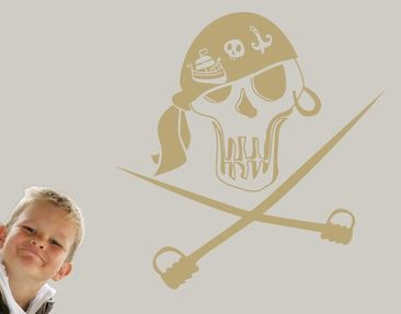 Produktfoto Wall Decal no.UL226 skull 1