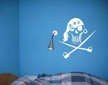 Product picture Wall Decal no.UL226 skull 1